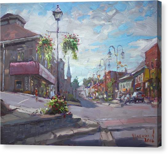 Ontario Canvas Print - Georgetown Downtown by Ylli Haruni