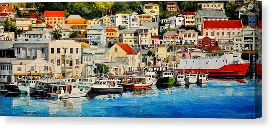 Georgetown Harbor, Grenada Canvas Print