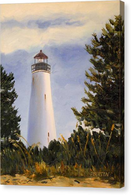 Georgetown Lighthouse Sc Canvas Print