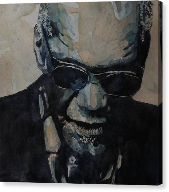 Electronic Instruments Canvas Print - Georgia On My Mind - Ray Charles  by Paul Lovering