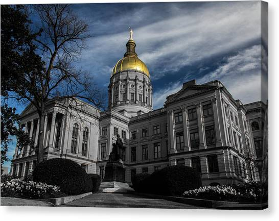 Georgia State Capital Canvas Print