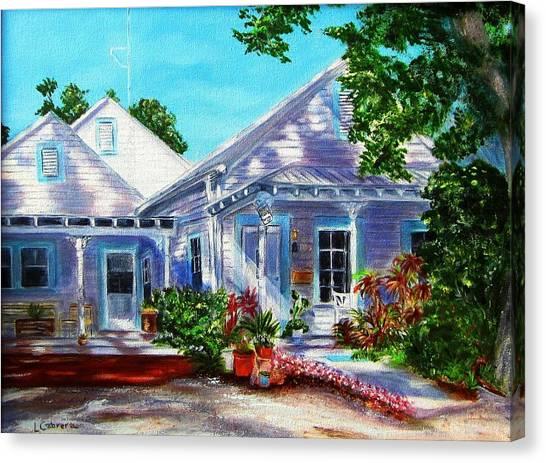 Georgia Street, Key West Canvas Print