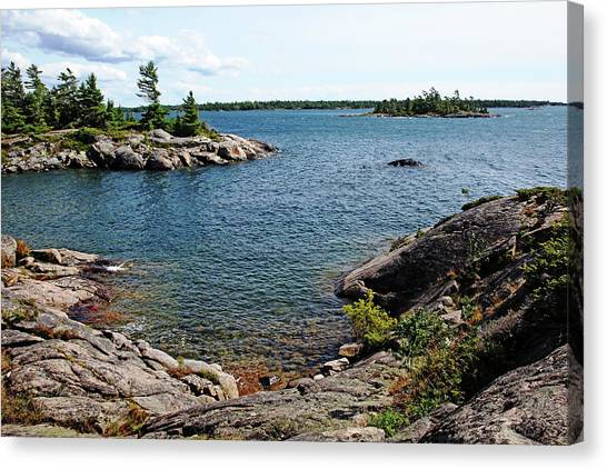 Georgian Bay Islands Canvas Print