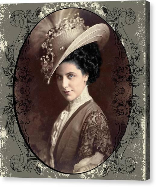 Geraldine Farrar Canvas Print