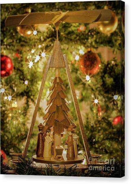 German christmas cards canvas prints fine art america german christmas cards canvas print german christmas pyramid by john roberts m4hsunfo