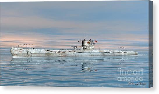 German Submarine U-99 Canvas Print