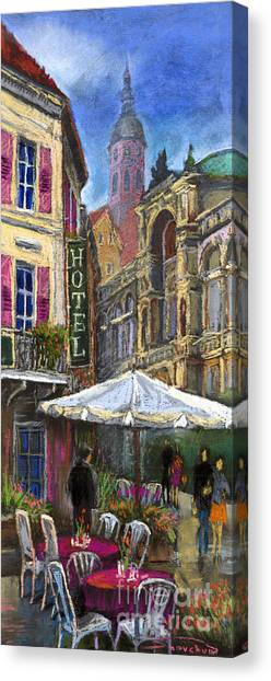 German Canvas Print - Germany Baden-baden 07 by Yuriy Shevchuk