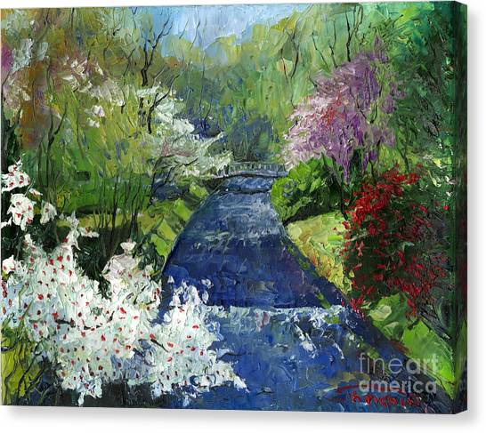 German Canvas Print - Germany Baden-baden Spring by Yuriy Shevchuk