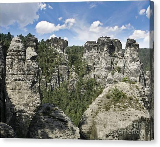 Germany Landscape Canvas Print