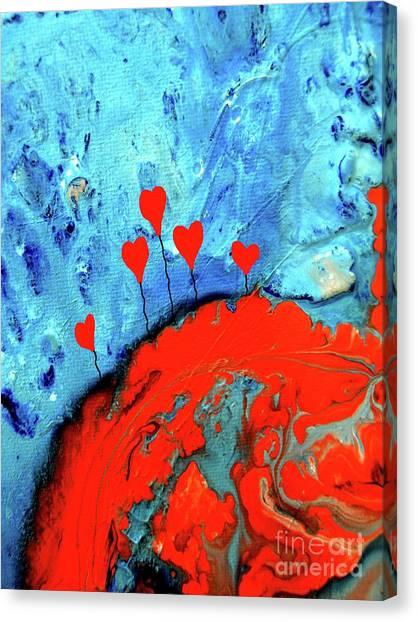 Germinating Love Canvas Print