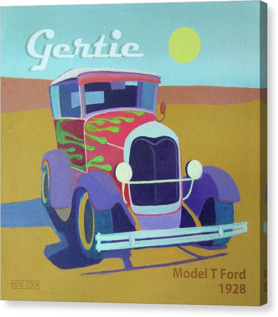 Gertie Model T Canvas Print