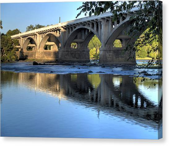 Gervais Street Bridge-1 Canvas Print