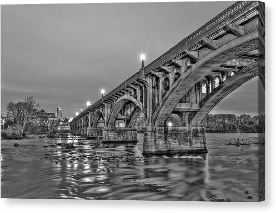 Gervais Street Bridge II Canvas Print