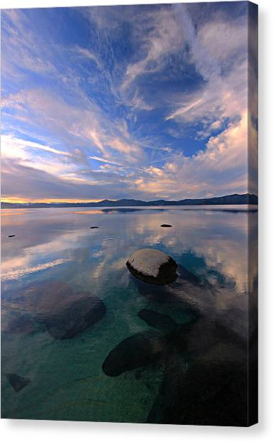 Canvas Print featuring the photograph Get Into Nature by Sean Sarsfield
