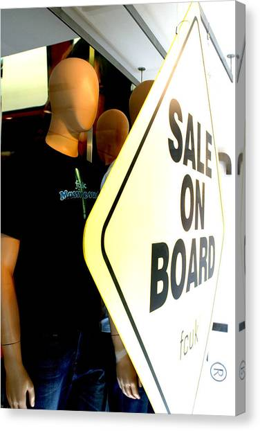 get on Board Canvas Print by Jez C Self