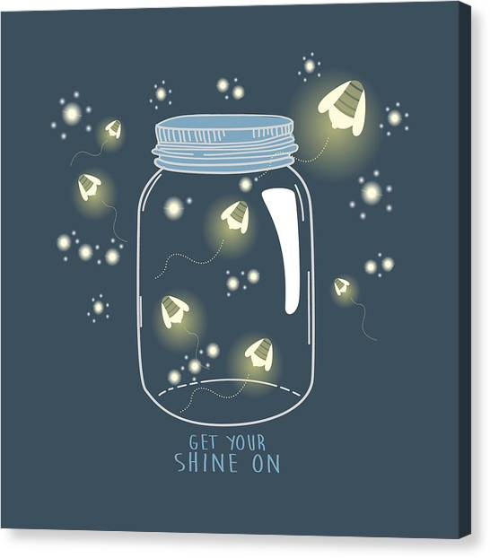 Get Your Shine On Canvas Print