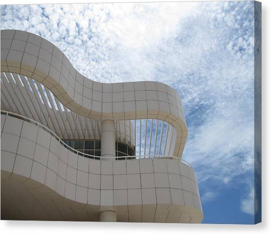 J Paul Getty Canvas Print - Getty by Nancy Ingersoll