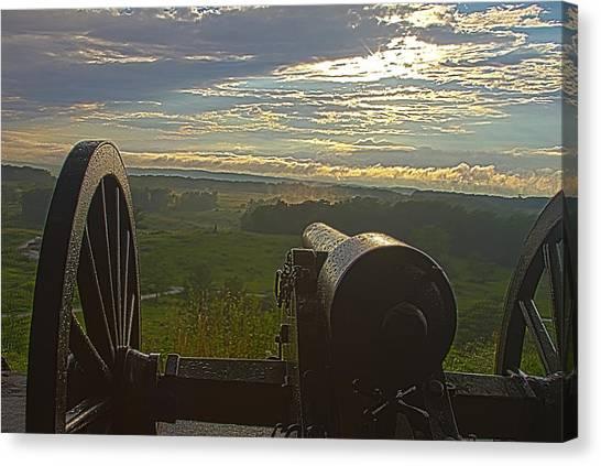 Gettysburg Canon Canvas Print