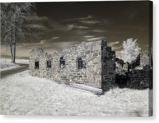 Gettysburg - Rose Farm Ruins Canvas Print