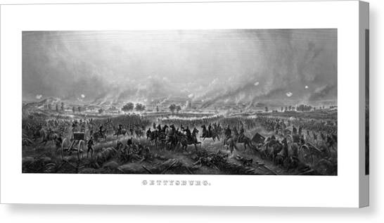 South American Canvas Print - Gettysburg by War Is Hell Store