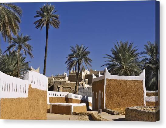 Arabian Desert Canvas Print - Ghadames Old Town by Ivan Slosar