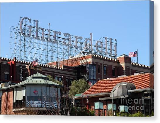 Ghirardelli Chocolate Factory San Francisco California 7d13978 Canvas Print