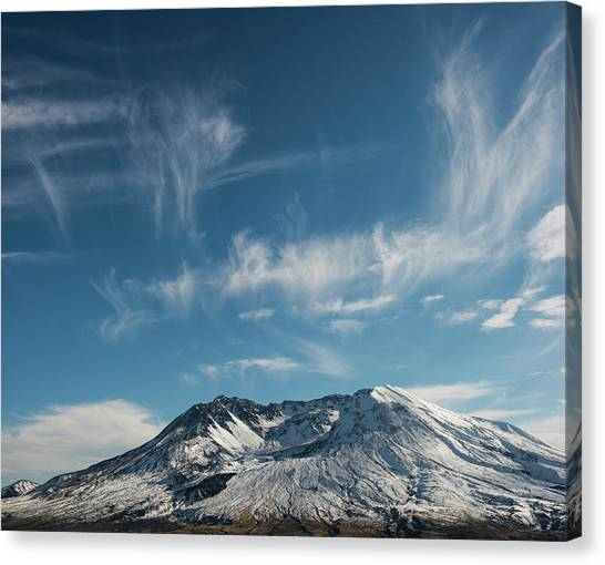 Ghost Clouds Canvas Print
