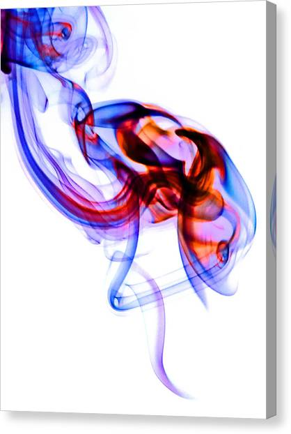Ghost Invert 3 Canvas Print