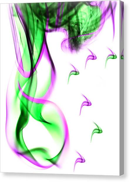 Ghost Invert 5 Canvas Print