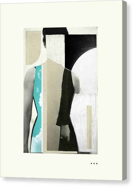 Surrealism Canvas Print - Ghost by Jazzberry Blue