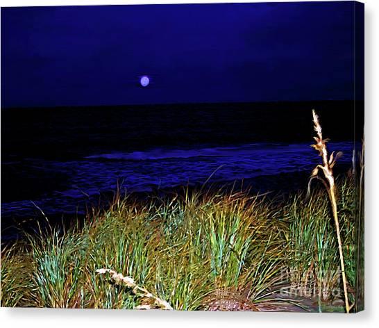 Ghost Moon Canvas Print