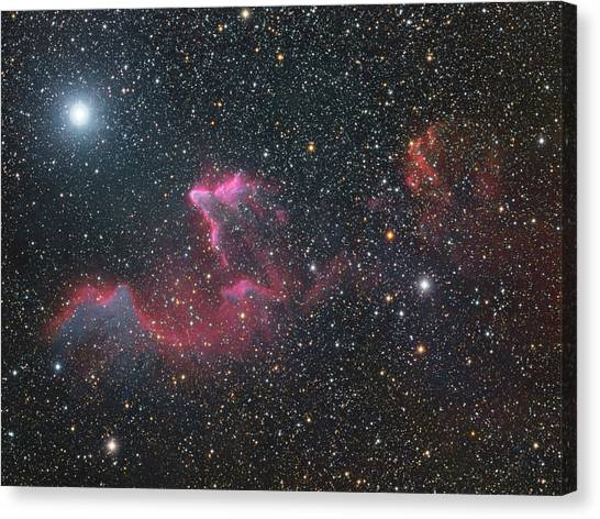 Ghost Of Cassiopeia Canvas Print