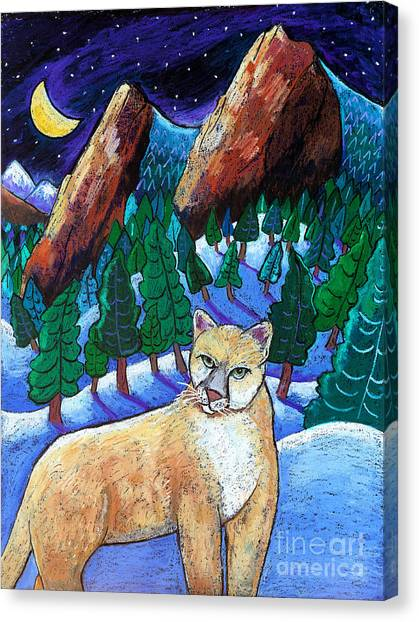 Ghost Of The Night Canvas Print by Harriet Peck Taylor