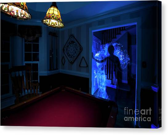 Ghost Of The Parlor Canvas Print