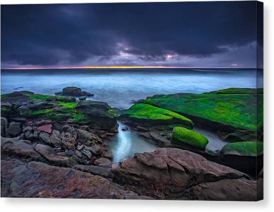 Big Sky Canvas Print - Ghost Tide by Peter Tellone