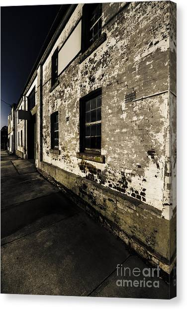 Urban Decay Canvas Print - Ghost Towns General Store by Jorgo Photography - Wall Art Gallery
