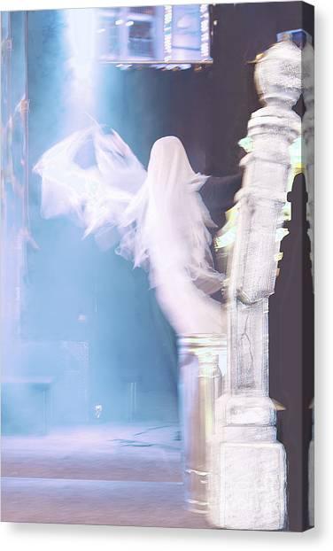 Ghost Canvas Print by Viktor Savchenko