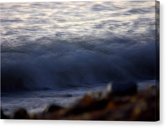 Ghost Wave Canvas Print by Brad Scott