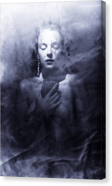Ghost Woman Canvas Print