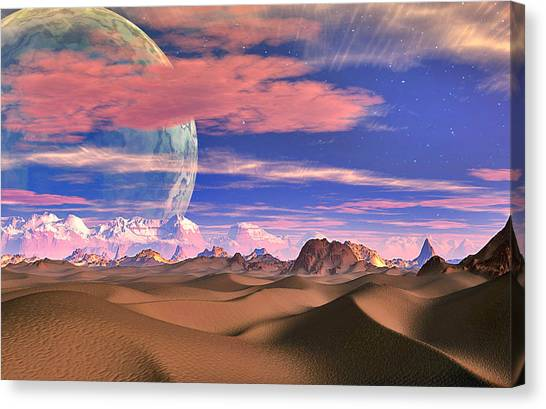 Ghost World Canvas Print by David Jackson