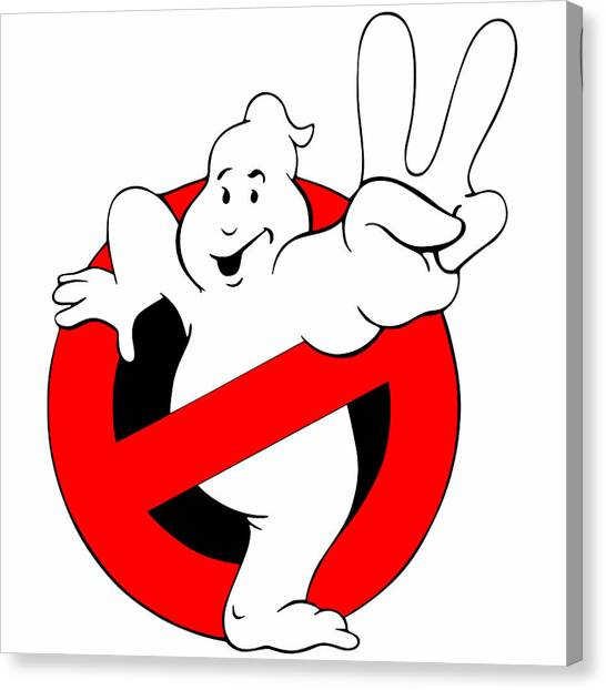 Ghostbusters Canvas Print - Ghostbusters II 1989 by Geek N Rock