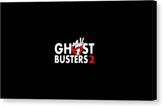Ghostbusters Canvas Print - Ghostbusters II by Super Lovely