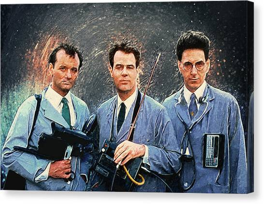 Ghostbusters Canvas Print - Ghostbusters by Zapista