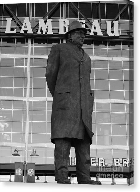 Green Bay Packers Canvas Print - Ghosts Of Lambeau by Tommy Anderson