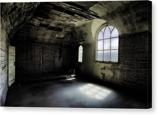 Ghosts Remain Canvas Print