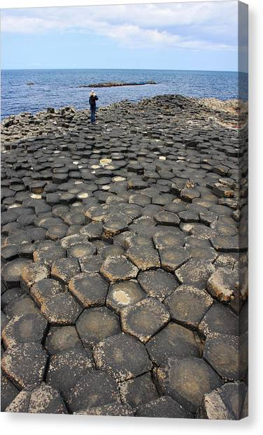 Giant Causeway Northern Ireland Canvas Print by Pierre Leclerc Photography