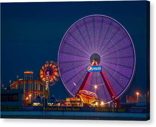 Giant Ferris Wheel Canvas Print