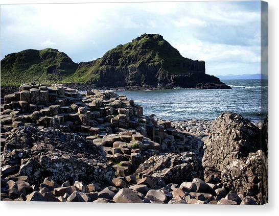 Giant's Causeway, Northern Ireland. Canvas Print