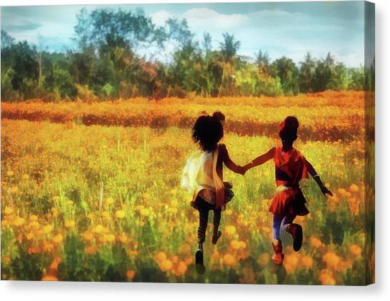 Gia's Field Of Dreams Canvas Print