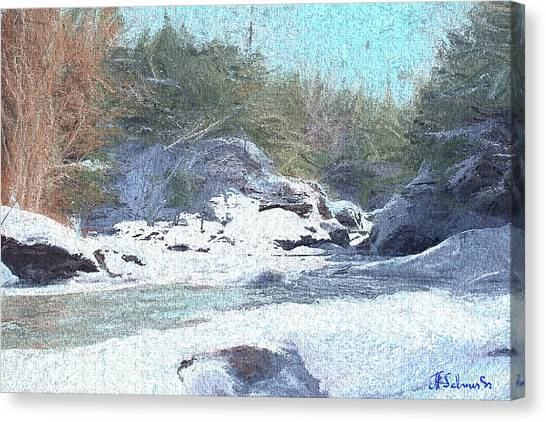 Gibou Falls Canvas Print
